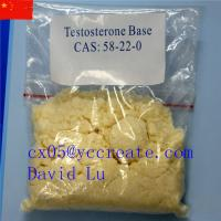 China 98% purity Bodybuilding Legal Steroids CAS 58-22-0 White Crystalline on sale