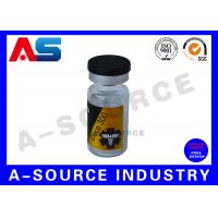 Quality Custom Product Labels Printing For Clear Sterile Injection Vials for sale