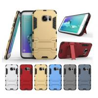 Quality Defender Dual Hybrid Armor Bracket Stand Case For iphone 5 6 plus note 4 7 S6 S7 Protective tpu pc Shockproof Cover for sale