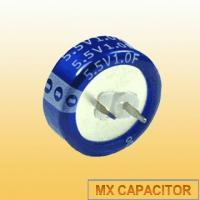 China C Type Gold Capacitor 5.5V 1F,Coin Cell Super Capacitor 5.5V 1F 1000mF on sale