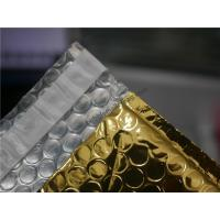 Quality Gold Metallic Padded Envelopes , 260x350 #A4-2VD Foil Bubble Wrap Envelopes for sale