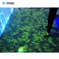 Quality Amusement 3D Interactive Floor Projection System Kid Games for sale