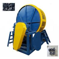 China Vertical Tire Shredder Tyre Recycling Equipment Rubber Mulch High Power on sale