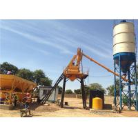 Quality Stationary Concrete Batching Plant With Cement Silos 15 - 200 M3 Per Hour for sale
