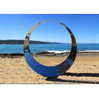 Buy Famous Outdoor Decoration Ring Sculpture Stainless Steel Modern Polished at wholesale prices
