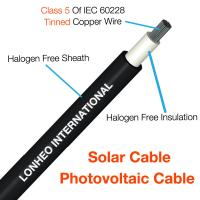 China Photovoltaic Cable (Solar Cable) TUV Certificate  PV Cable PV1-F on sale