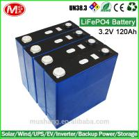 Quality High effective favorable price for prismatic LiFePo4 3.2V 100AH battery for electric vehicle battery prismatic lifepo4 cell for sale