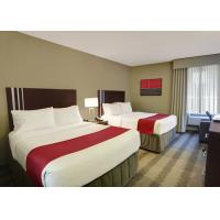 Quality Holiday Inn Modern Hotel Bedroom Furniture , Hotel Room Furnishings for sale