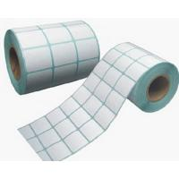 China Printing paper label/self adhesive stickers/rotary printed adhesive label papers on sale
