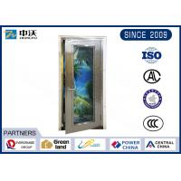 Quality Custom Made Metal Entry Doors , Commercial 1.5 Hour Fireproof Metal Doors for sale