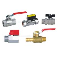 """Quality Pneumatic Accessories BV Brass Ball Valve 25bar With Both 1/4"""" Female Thread for sale"""