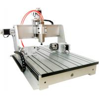 China Wireless USB CNC Controller Mach3 4th axis 6040 CNC Router Desktop CNC Routing Machine for sale