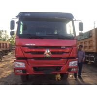Quality Sino Second Hand Tipper Trucks 336HP 10 Wheels 6X4 75 Km/H Max Speed for sale