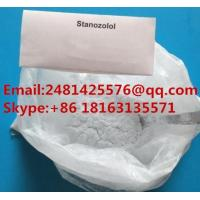 Quality Oral Muscle Growth Anabolic Steroids Stanozolol / Winstrol Powder CAS 10418-03-8 for sale