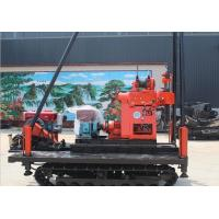 China Full Hydraulic Crawler Mounted Drill Rig 220V / 380V 6655 * 2150 * 2850 Dimension on sale