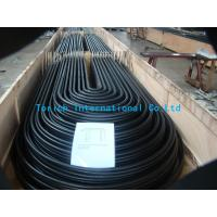 China A 556 / 556M Cold Drawn Carbon Feedwater Heater Seamless Steel Pipe Black on sale