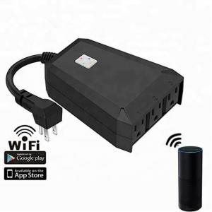 China IP44 waterproof wifi remote control smart plug desktop socket, suitable for home indoor and outdoor on sale