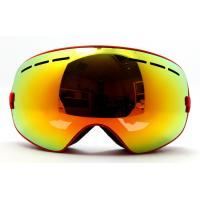 Comfortable Mirror Lens Snowboard Goggles and Eyewear for Skating