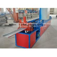 Quality Hydraulic Roofing Sheet Making Machine 250 / 312 And 416mm Changeable Soffit Panel for sale