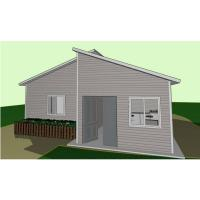 Quality Heat Insulation Steel Frame 3 Bedroom Modular Homes South Africa Prefab Villa for sale