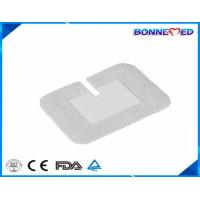 Quality BM-7015 Hot Sale Sterile Individul Packing Disposable Non woven U shape Infusion Fixing Medical Dressing Pad for sale