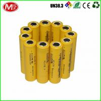 Quality 3.2V 1350mAh Lithium 18650 Battery Pack LiFePO4 Rechargeable 1500 Times Cycle Life for sale