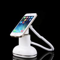 Quality COMER Mobile retail stores security stand mobile phone security stand with charger cord for sale