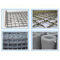 Quality Stainless Steel Crimped Wire Mesh 10mm 15mm 20mm Opening Size For Construction for sale