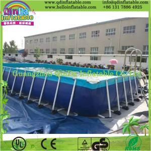 Above Ground Swimming Pool, Metal Frame Pool