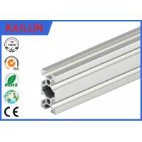 Extruded aluminum rails with t slots slotted