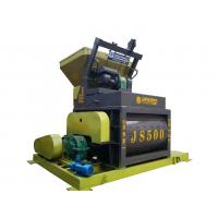 Quality 30 Rpm JS500 Concrete Mixer Machine High Efficiency Low Energy Consumption for sale
