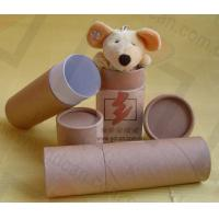 Luxury Kraft Paper Cans Packaging Wine Bottle Presentation Box