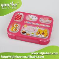 plastic leakproof for every 6 compartments lunch bento box with spoon bpa free of stjinbao. Black Bedroom Furniture Sets. Home Design Ideas