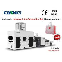 Quality Fully Automatic Box Type Non Woven Bag Making Machine 10000x1920x1900mm for sale