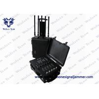 Quality Portable Cellphone Signal  Prison Jammer GPS WiFi Pelican Case  RF Bomb Cellphone Signal Jammer for sale