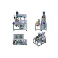 Quality Three Phase Toothpaste Manufacturing Equipment With Hydraulic Lifting Function for sale