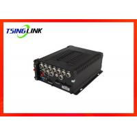 Quality Wireless 8 Channel Mobile NVR , 4G DVR Video Recorder For Car Bus for sale