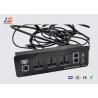 Buy cheap USA UK EU Plug Electricity Multimedia Socket With USB RJ45 RJ11 VGA from wholesalers