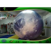 Quality Attractive Outdoor Planet Moon Inflatable Advertising Balloons for Decoration for sale