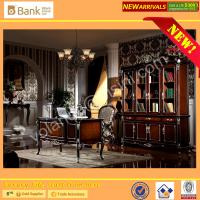 Office Desk/Antique Royal Wood Carving Office Table/Neo-classic DESK