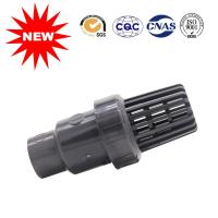 Buy cheap Plastic Bottom Check Valve Water Supply Fittings PVC Pipe Fittings from wholesalers
