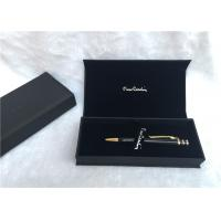 Quality Solid Wood Packaging Pen Gift Boxes Promotional With Black Color , SGS Listed for sale