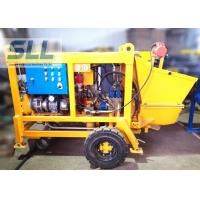 Quality Diesel Engine Concrete Pumping Equipment With Concrete Hose 15m3/H Output for sale