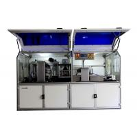 ABS material automatic card puncing machine with outer cover 380V Power