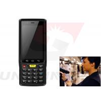 Quality R2000 Sensor Handheld Android RFID Reader Long Distance With 1d / 2d Barcode for sale