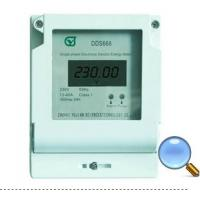 Quality DDS668 Single-phase Electronic Electric Energy Meter for sale