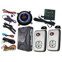 Quality Rfid Anti Theft Car Security Alarm System , Trunk Release Open Auto Remote Start Systems for sale