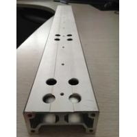 Quality Aluminium Extrusion Custom Machined Parts With Drilling And Tapping for sale