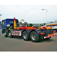 Quality Hydraulic Waste Hook Lift Bin Truck , 30m3 Heavy Duty Rubbish Collection Truck for sale