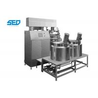 Quality Homogenizing Vacuum Emulsifying Mixer Siemens Touch Screen Controlled Type for sale